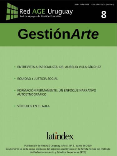 Tapa del número 8 de la revista GestiónArte